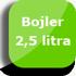 Pojemność bojlera 2,5 litra